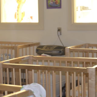 A separate infant nap room means our littlest students can rest without distraction